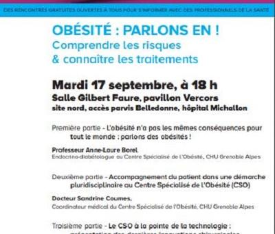 Conférence CHU Obésité : parlons en !