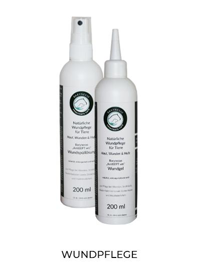 Natürliches Wund- und Hautpflege-Set