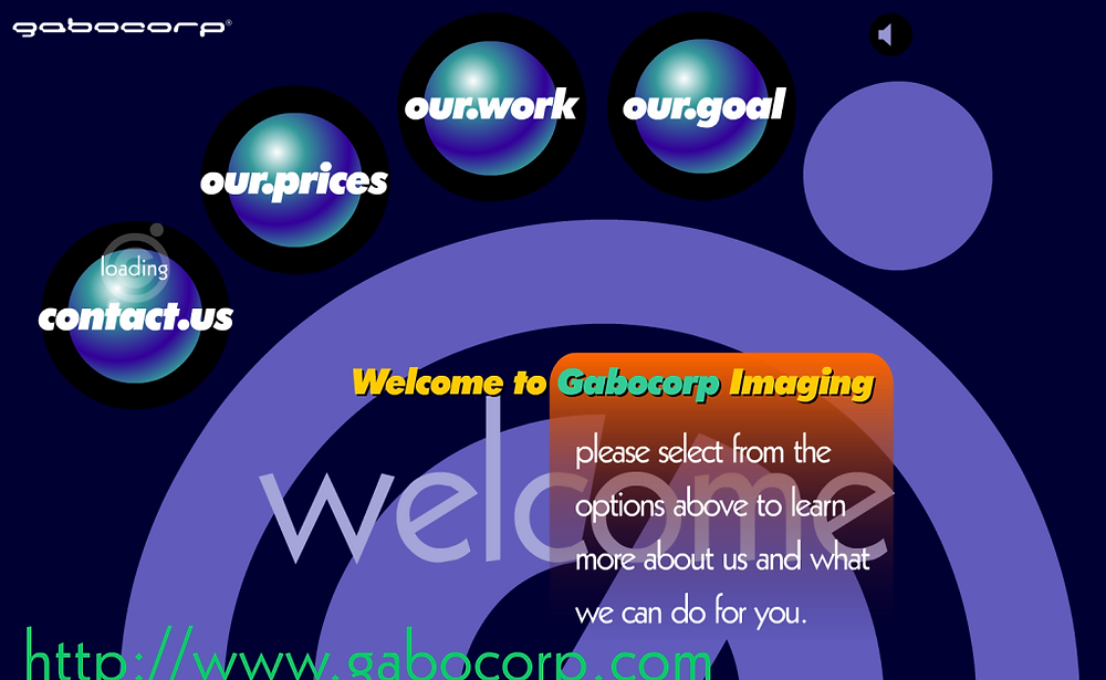 Late 90s Website Design