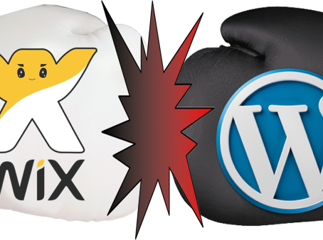The Epic Age Old Battle: WIX vs WORDPRESS!
