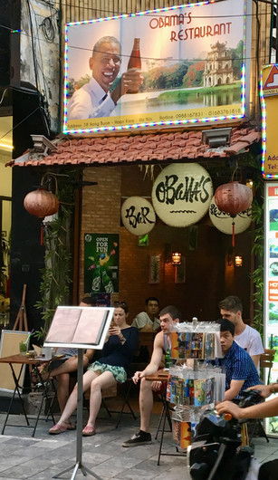 Obama Bar Old Quarter Hanoi