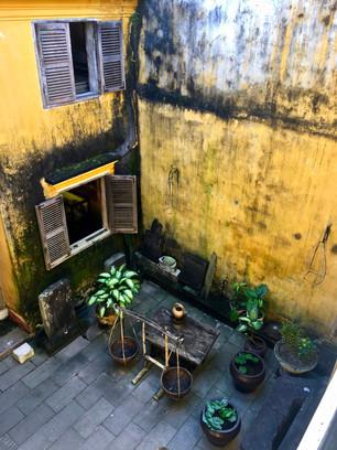 Courtyard in Hoi-An Vietnam