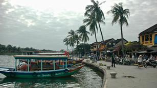 Riverside in Hoi-An Vietnam