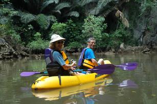 Canoeing in Krabi