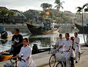 Riverside in Hoi-An