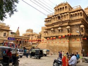 Fortress city Jaisalmer India
