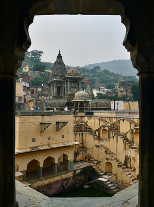 Step well Amer Fort Jaipur India