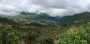 Hillside in Sapa Vietnam