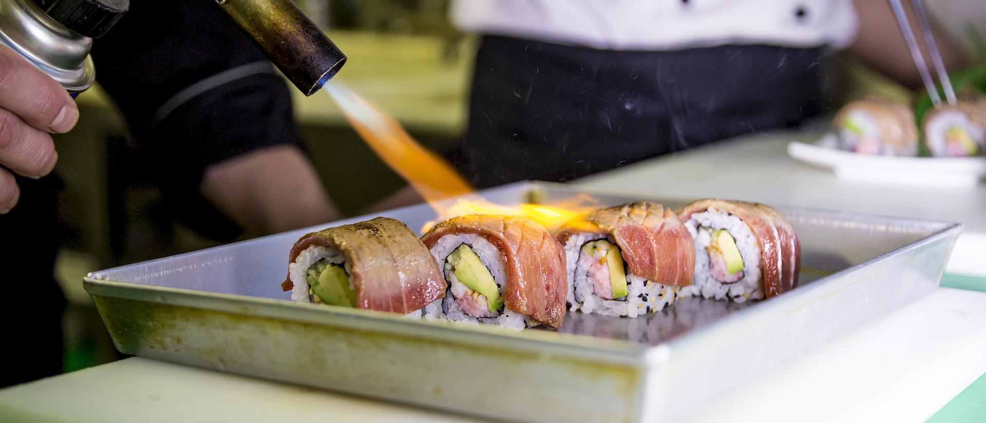 sushisen, cucina giapponese