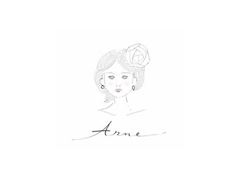 ARNE【ロゴ・名刺・ショップカード制作】