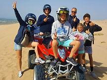 essa adventure quad beach tour group fam