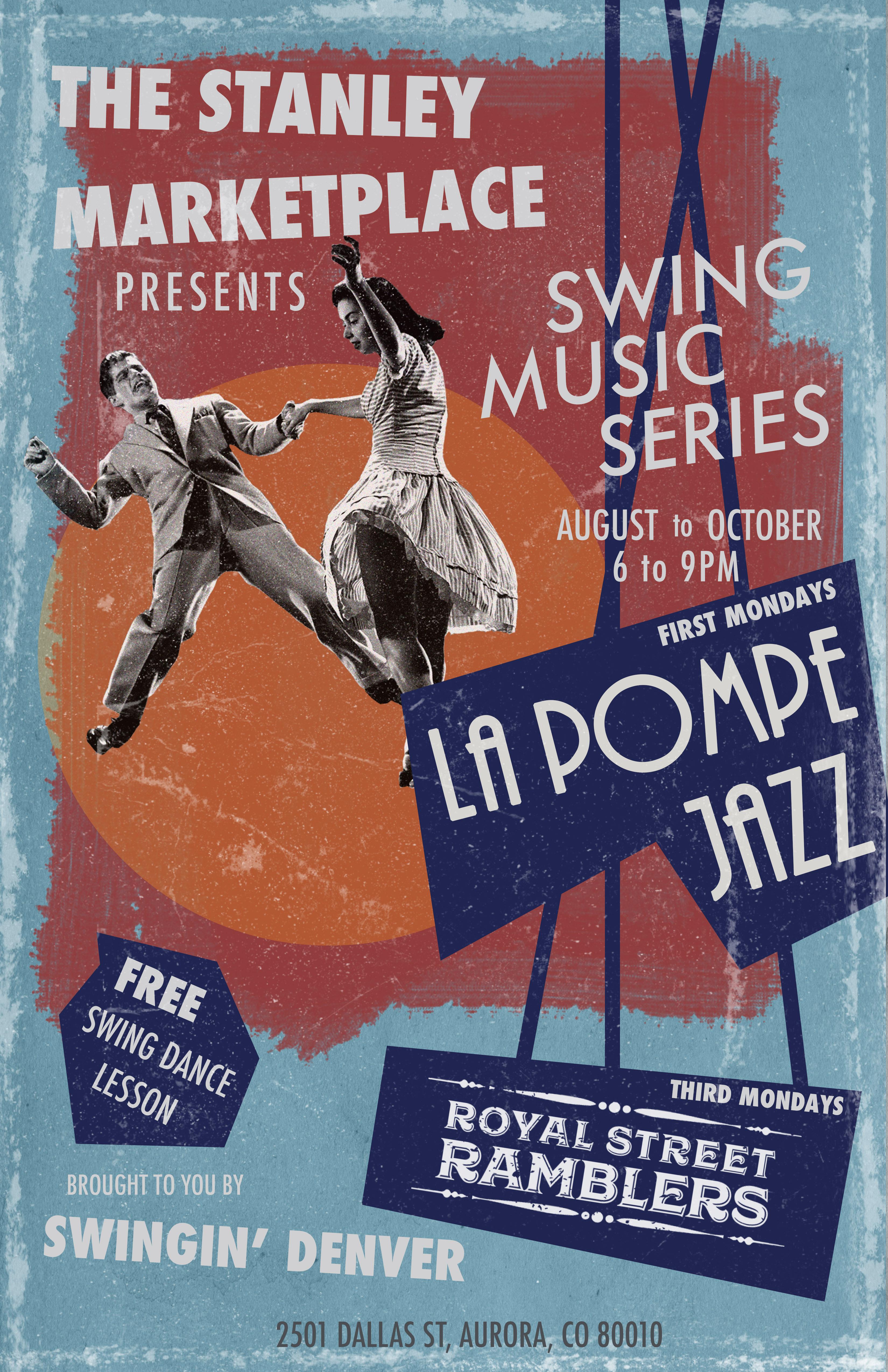 La Pompe Jazz Poster