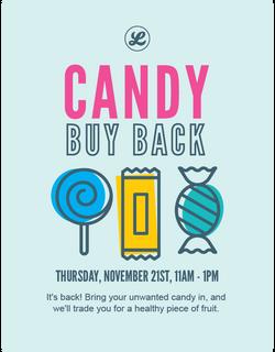 Poster design for Lucky's Market