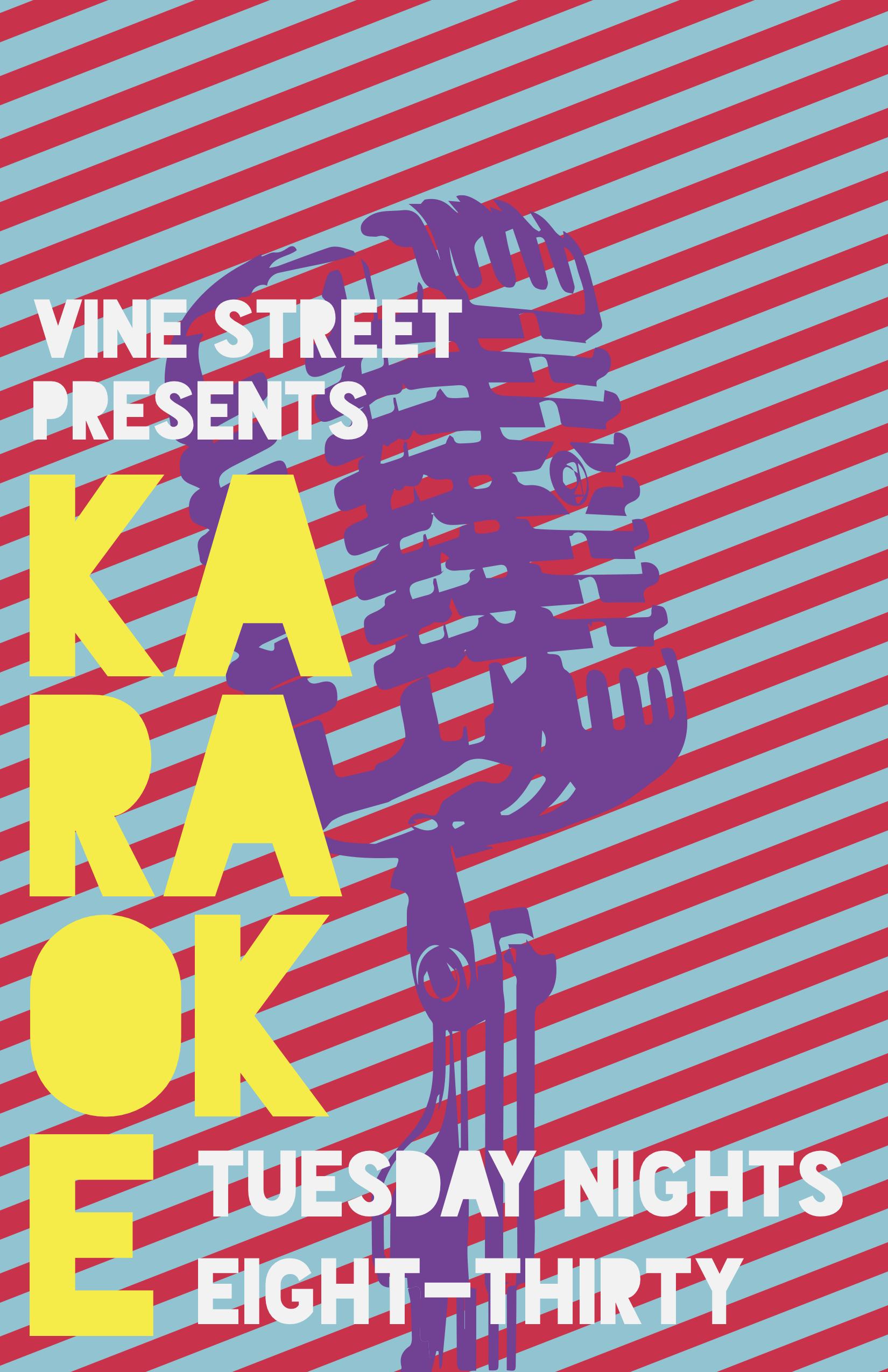 Karaoke Night Poster