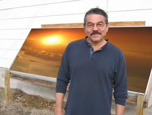 Off-Grid Solar Furnace