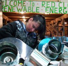Solar Women Warriors making our Furnaces