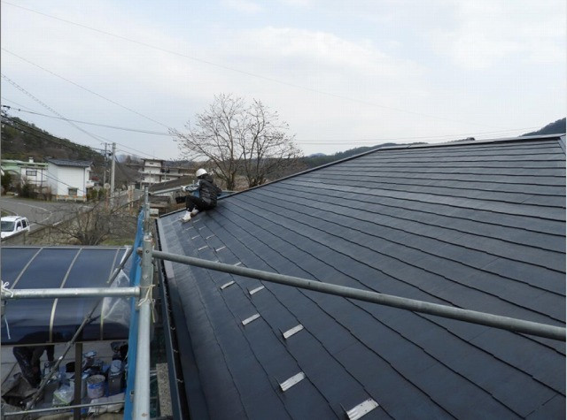 屋根 仕上げ塗装