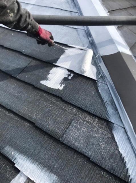 屋根 下塗り 遮熱塗料