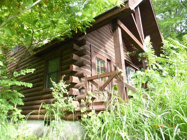 ログハウス山荘 屋根・外壁塗装工事 着工前
