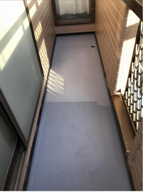 バルコニー床 防水
