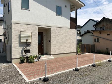 上田市 Y様邸 お庭リフォームとエクステリア工事