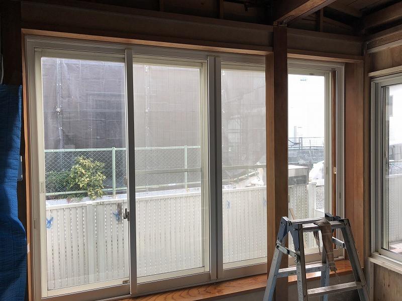 内窓取付工事前