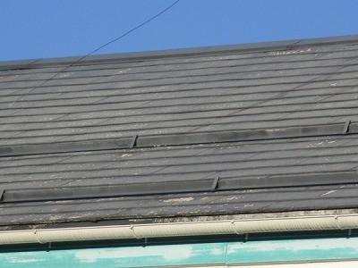 屋根塗装 着工前