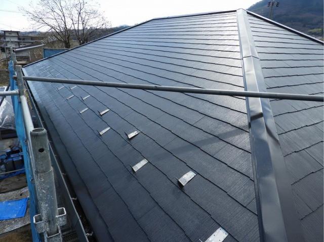 屋根 遮熱塗料 完了