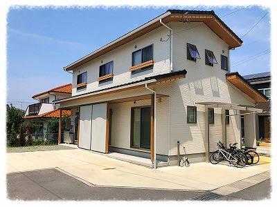上田市 S様邸 スタイルシェード(外付日よけ)取付工事