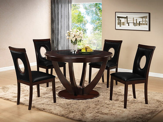 Celine Dining Table with 4 Chairs