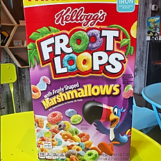 Froot Loops with Marshmallows