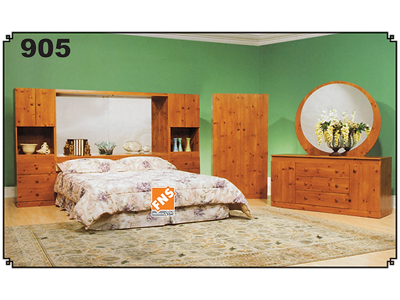 905 - Single Bedroom Set