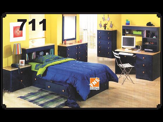 711 - Headboard + Bed