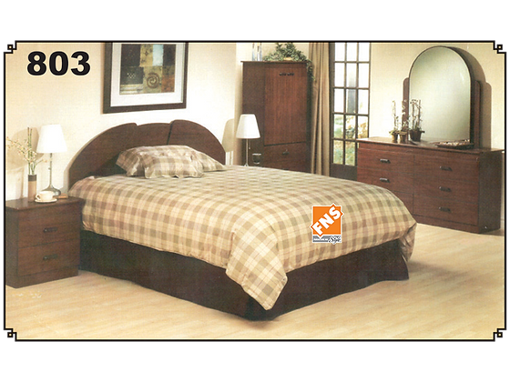 803 - Double Bedroom Set