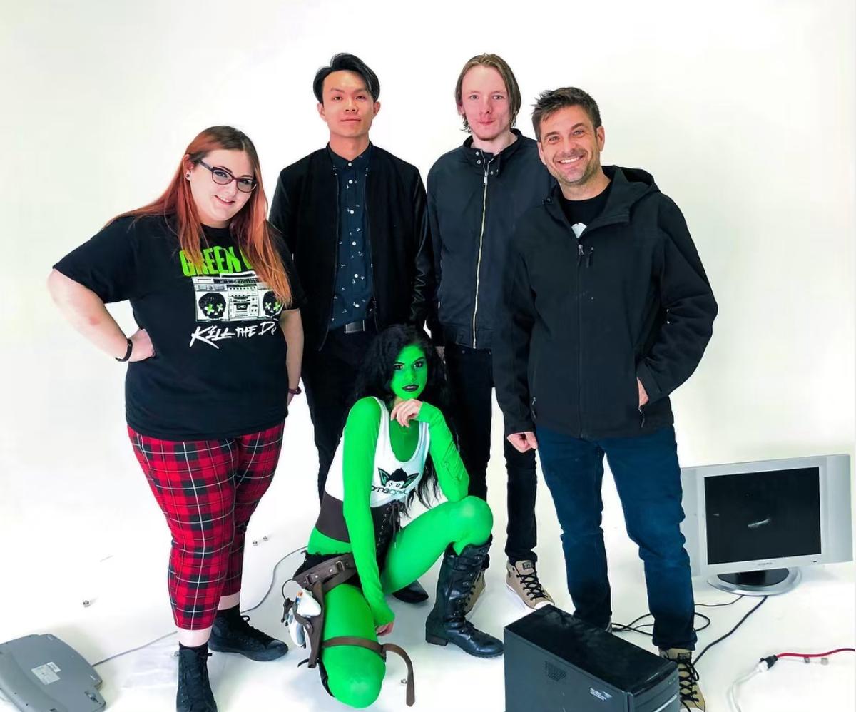 Gaming Commercial Being Filmed in Blue Phoenix Studios