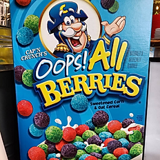 Cap'n Crunch Oops All Berries Cereal