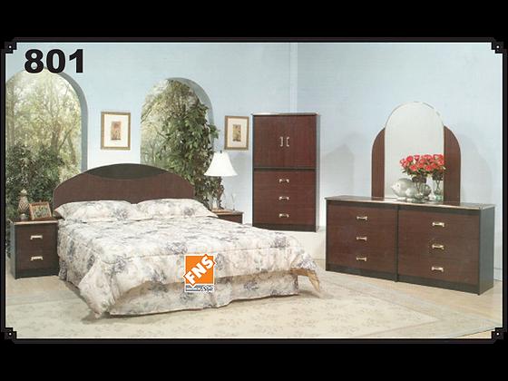 801 - Double Bedroom Set