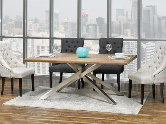 Alma Dining Table with 6 Chairs