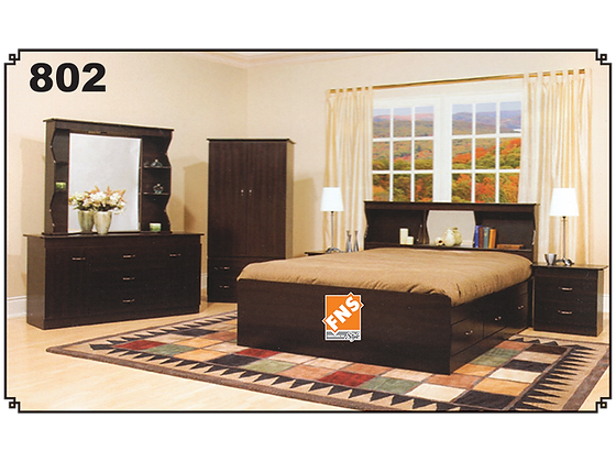 802 - Single Bedroom Set