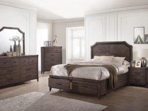 Missa Storage Bedroom Set - Queen