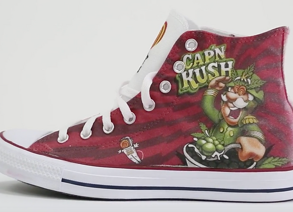 Cap'n Kush Converse Shoes