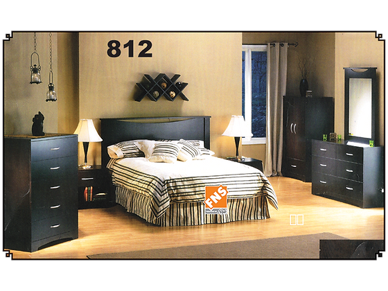 812 - Single Bedroom Set