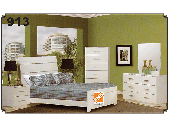 913 - Double Bedroom Set