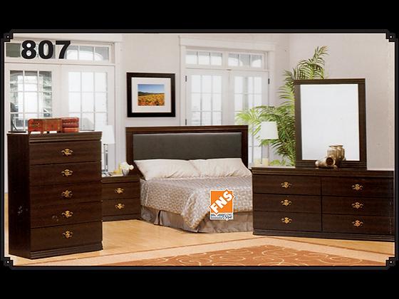 807 - Double Bedroom Set