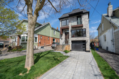 Brand new build modern home in Danforth Toronto area.