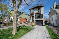 Brand new build modern home in Danforth Toronto area.