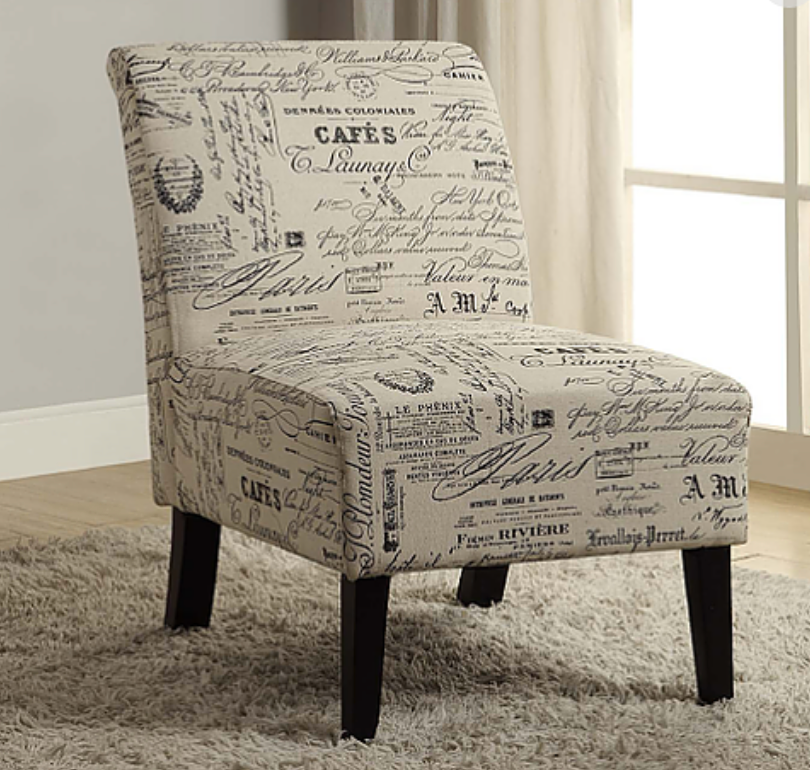 Cafe Print Chair
