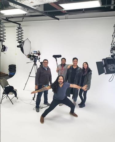 Feature Film being filmed in Blue Phoenix Studios