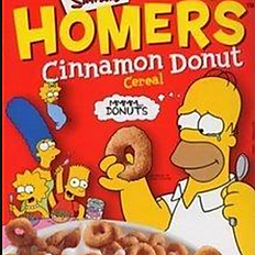 Homers Cinnamon Donut Cereal
