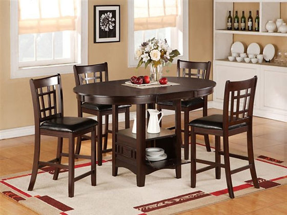 Cayman Pub Styled Table with Chairs